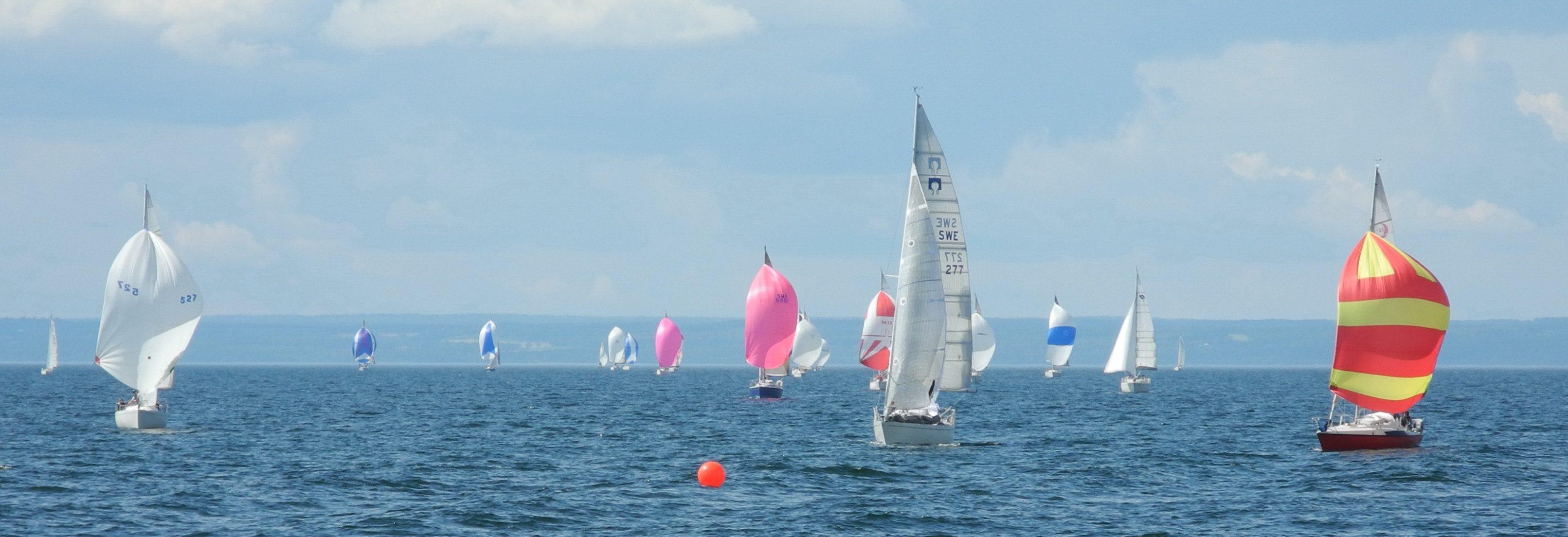 Stor seglingsdag i Gränna