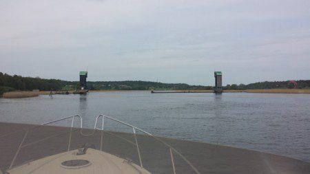 Ormo Skärmar hindrar saltvattnet att gå upp i Göta Älv