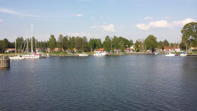 Sjötorp gästhamn. Kl 09:00 imorgon startar vår kanalresa, Sjötorp - Karlsborg.