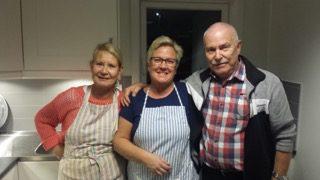 Kicki, Anita och Peter. Foto: Stefan Erixson
