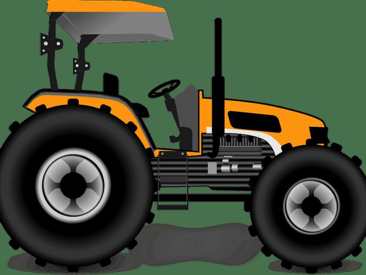 Traktor finns tillgänglig vid Sjösättning I och Sjösättning II